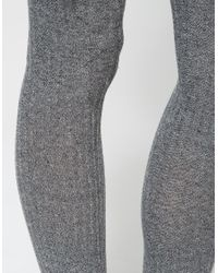 Baserange | Natural Over Knee Socks | Lyst
