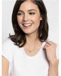 BaubleBar | Metallic Solitaire Arc Collar | Lyst
