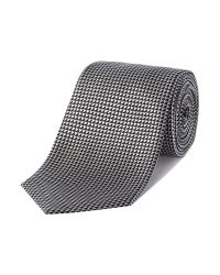 Armani | Black Textured Tie for Men | Lyst