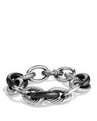 David Yurman - Metallic Oval Extra Large Link Bracelet - Lyst