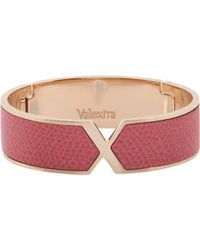 Valextra | Pink Hinged Vs Bangle | Lyst