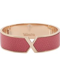 Valextra - Pink Hinged Vs Bangle - Lyst