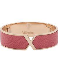 Valextra | Pink Hinged Vs Bangle | Lyst