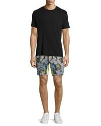 Opening Ceremony - Blue Palm Reflex Short for Men - Lyst