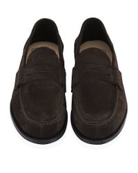 Church's - Brown Pembrey Suede Penny Loafer for Men - Lyst