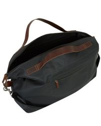 Ally Capellino - Black Aaron Canvas Holdall for Men - Lyst