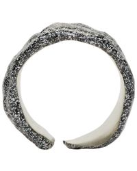 Pearls Before Swine | Metallic Silver Forged Spacer Ring | Lyst