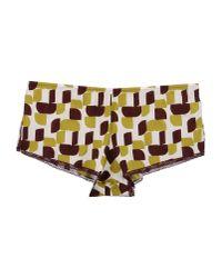 Laura Urbinati - Yellow Hotpants - Lyst