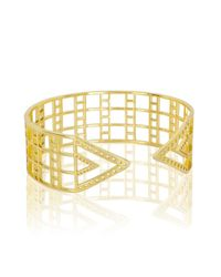Arme De L'Amour | Metallic Upper Arm Pattern Bracelet | Lyst