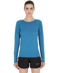 Patagonia | Blue Merino Lightweight Crew T-shirt for Men | Lyst