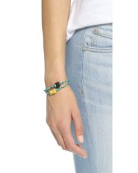 Venessa Arizaga - Green Cat + Dog Friendship Bracelet Set - Lyst