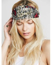 Free People | Red Womens Marrakesh Headpiece | Lyst