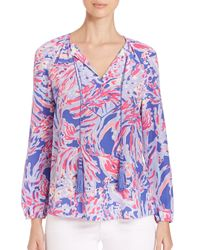Lilly Pulitzer | Multicolor Upf 50+ Vero Tunic | Lyst