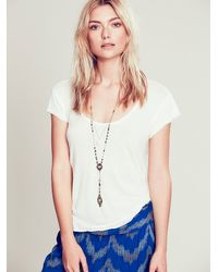 Free People - Multicolor Double Layer Rosary - Lyst