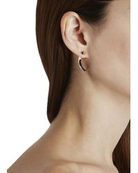 Katie Rowland | Pink Mini Talon 18Kt Rose Gold Vermeil Earrings | Lyst
