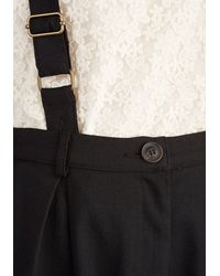 Collectif Clothing - Conference Room Coffee Pants In Black - Lyst