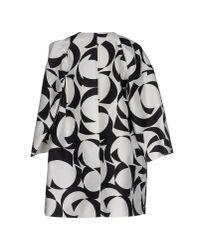 Les Copains - Black Full-length Jacket - Lyst
