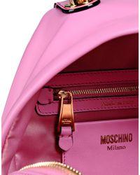 Moschino - Metallic Rucksack - Lyst