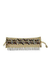 Erickson Beamon - Natural Medieval Bracelet With Swarovski Crystal - Lyst