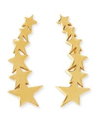 Jennifer Zeuner | Yellow Vega Star Earring Cuffs | Lyst