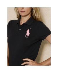 Pink Pony - Black Pink Pony Skinny Fit Polo - Lyst