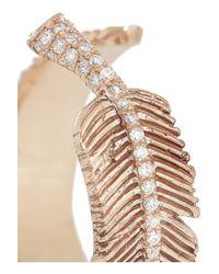 Daniela Villegas - Pink Wind 18-Karat Rose Gold Diamond Ring - Lyst
