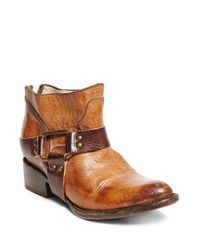 Freebird by Steven   Brown Phlow Distressed Leather Ankle Boot   Lyst