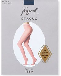 Fogal - Blue Opaque Tights - Lyst
