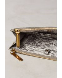 Liebeskind   Gray Mila Leather Pouch   Lyst