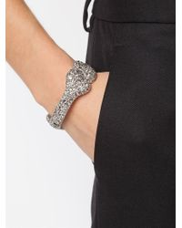 Vivienne Westwood | Metallic Bone Embellished Bangle | Lyst