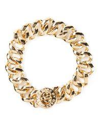Marc By Marc Jacobs | Metallic 'turnlock Small Katie' Bracelet | Lyst