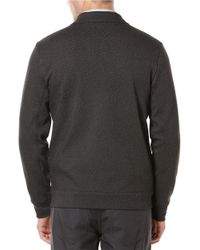 Perry Ellis | Black Knit Zip Up Sweater for Men | Lyst