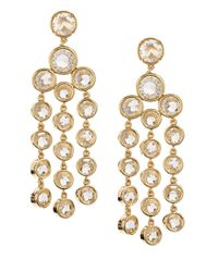 kate spade new york | Metallic Subtle Shimmer Metal-plated Chandelier Earrings | Lyst