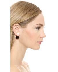Jarin K - Black Double Side Earrings - Lyst