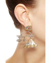 Sylvie Corbelin | Tourmaline and Pink Sapphire Volcano Mobile Earrings | Lyst