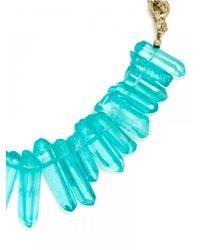 BaubleBar - Blue Bamm-bamm Collar-turquoise - Lyst