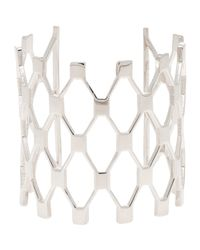 Jennifer Fisher - Metallic Net Cuff - Lyst