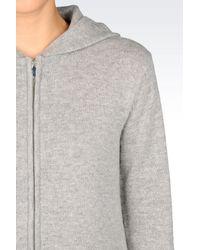 Armani Jeans - Gray Cardigan - Lyst