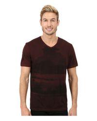 Calvin Klein Jeans | Red Clouded Horizon V-neck Tee for Men | Lyst