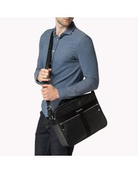 Tommy Hilfiger | Black Darren Messenger for Men | Lyst