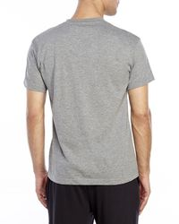 Geoffrey Beene | Gray Short Sleeve Henley for Men | Lyst