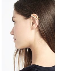 BaubleBar | Metallic Ice Bar Ear Cuff | Lyst
