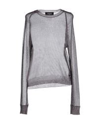 DSquared² | Gray Sweater | Lyst