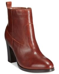 Cole Haan | Brown Livingston Booties | Lyst