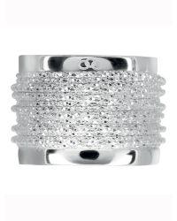 Links of London | Metallic Celeste Wide Wrap Silver Ring | Lyst