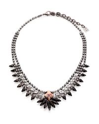 DANNIJO | Metallic Kohler Crystal Necklace | Lyst