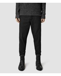AllSaints | Black Marteau Chino for Men | Lyst
