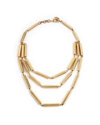 Lulu Frost | Metallic *new* Cascade Necklace | Lyst