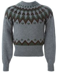 Kolor - Gray ' Beacon' Sweater for Men - Lyst