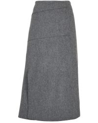 Nicole Farhi | Gray The Brohan Skirt | Lyst
